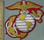 3635 R - Marine Corps Logo - Back Patch - Embroidery Patch