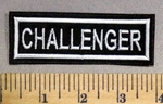 3865 L - Challenger - Embroidery Patch