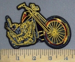 3897 G - Motorcycle - Embroidery Patch