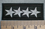 4 Stars - Embroidery Patch