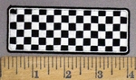 4012 G - Racing Checkered Flag - Embroidery Patch