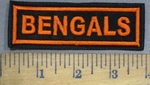 4019 L - Bengals - Embroidery Patch