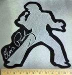 4046 L - Elvis Presley -  Back Patch - Embroidery Patch