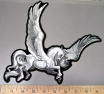 4050 G - Pegasus -Back Patch - Embroidery Patch