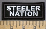 4068 L - Steelers Nation - Embroidery Patch