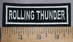 4269 L - Rolling Thunder - Embroidery Patch
