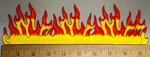 4376 S - Wall of Fire - Embroidery Patch