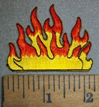 4440 S - 2 Inch Wall Of Fire - Embroidery Patch