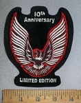 4609 L - Limited Edition 10th Anniversary - Trans Am - Embroidery Patch