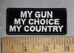 4626 CP - My Gun - My Choice - My Country - Embroidery Patch