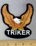 4793 S - Triker - Bronze Eagle - Embroidery patch