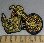 4834 G - Classic Motorcycle - Embroidery Patch