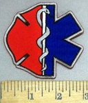 4912 CP - Fire Fighter And EMT Logos  - Embroidery Patch