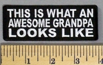 5106 CP - This Is What An Awesome Grandpa Looks Like - Embroidery Patch