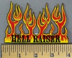 5199 N - Flames Of Fire - Hell Raiser - Embroidery Patch