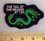 5208 L - The Tail Of The Dragon - Embroidery patch