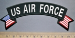 5717 CP - US Air Force - Top Rocker - American Flag - Embroidery Patch