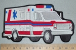 Ambulance - Back Patch - Embropidery Patch
