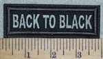 3125 L - Back To Black - Gray - Embroidery Patch