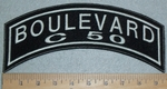 Boulevard C 50 - Top Rocker - Embroidery Patch