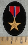 Bronze Star Metal - Embroidery Patch