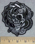 3277 G - Celtic Skull  - Embroidery Patch