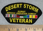 2817 W - Desert Storm Veteran - Embroidery Patch
