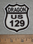 Dragon US 129 - Embroidery Patch