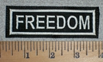 Freedom - Embroidery Patch