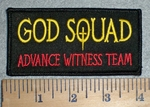3357 W - GOD SQUAD - Advance Witness Team- Embroidery Patch