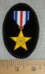 Gold Star Metal - Embroidery Patch