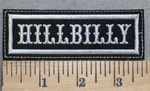 2509 L - Hillbilly - Embroidery Patch