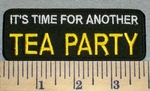It's Time For Another Tea Party - Embroidery Patch
