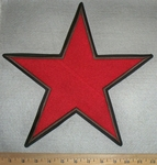 Large Red Star - Back Patch