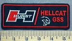 329 L - HURST - Hellcat GSS - Embroidery Patch