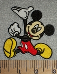 2717 C -  Mickey Mouse - Embroidery Patch