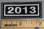 2263 L - Mini Patch - 2013 - Embroidery Patch