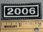 2259 L - Mini Year Patch 2006 - Embroidery Patch