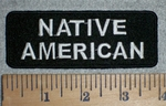 3342 W - Native American - Embroidery Patch