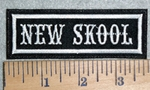 3119 L -New Skool - Embroidery Patch