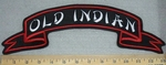 Old Indian - Ribbon Style - Top Rocker - Embroidery Patch