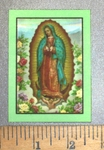 1425 L - Our Lady Of Guadalupe - Printed Patch - Embroidery Patch