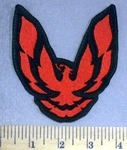 2357 L - Trans Am - Red - Embroidery Patch