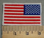 Reverse American Flag - Embroidery Patch