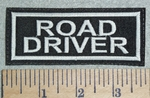 3028 L - Road Driver - Embroidery Patch
