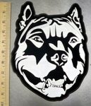 3309 CP - Pitbull - Back Patch - Embroidery Patch