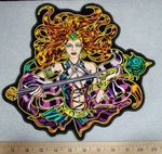 Sorceress - back Patch - Embroidery Patch