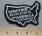 United Bikers Of America Brotherhood - Embroidery Patch