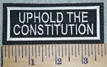 Uphold The Constitution - Embroidery Patch