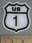 US 1 - Embroidery Patch